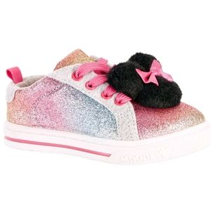 🍬2/$15🍬 Minnie Mouse Casual Rainbow Pom Sneaker